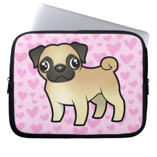 Pug Love Computer Sleeve