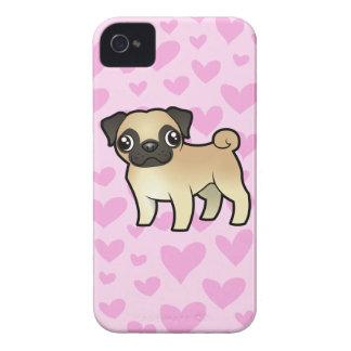Pug Love iPhone 4 Case