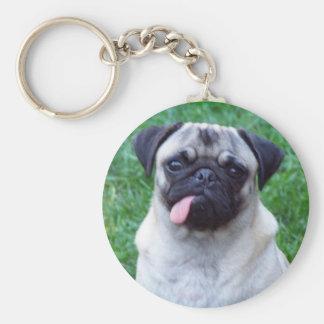 Pug Love Keychain