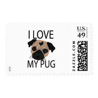 Pug Love! Stamps
