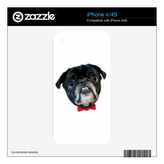 PUG love Skin For iPhone 4S
