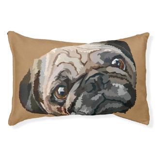 pug love small dog bed