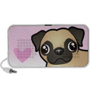 Pug Love Portable Speaker