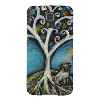 Pug Love Tree of Life Galaxy S5 Case