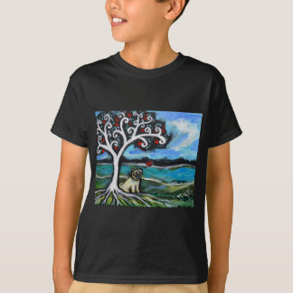 Pug Love Tree of Life T-Shirt