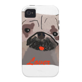 Pug Lover Case-Mate iPhone 4 Case