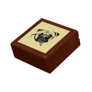 Pug Lover Gifts Keepsake Box