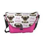 Pug Lover Messenger bag
