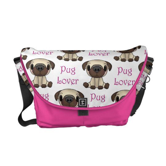 Pug Lover Messenger bag