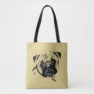Pug Lover Tote Bags
