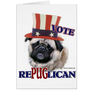Pug Lovers Gifts Card