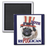 Pug Lovers Gifts Magnet
