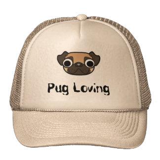 Pug Loving Cap Trucker Hat