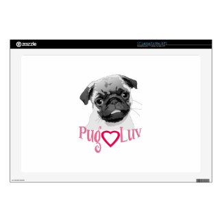 PUG LUV SKIN FOR LAPTOP