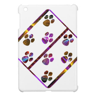 PUG Mark Assembly with colored stones Cover For The iPad Mini
