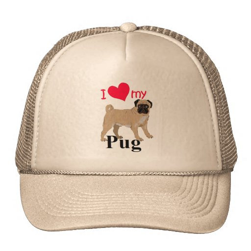 Pug Mesh Hat