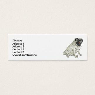 Pug Mini Business Card