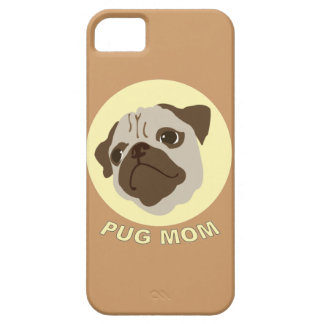 Pug Mom (1) iPhone 5 Cases