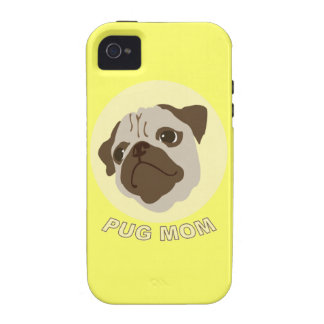 Pug Mom (1) Case-Mate iPhone 4 Cover