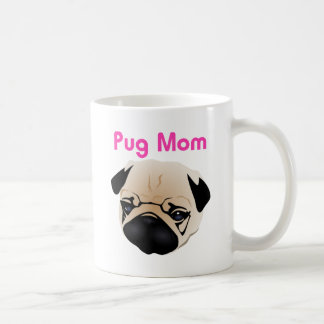 Pug Mom 1 Coffee Mug
