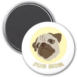 Pug Mom (1) Magnet