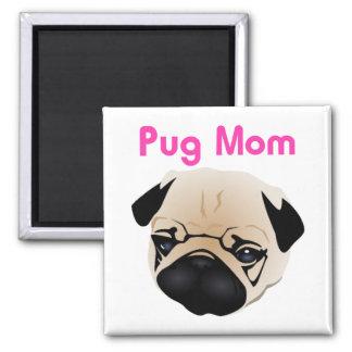 Pug Mom 1 Magnet