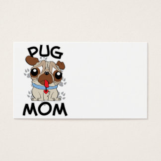 Pug Mom Business Card