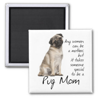 Pug Mom Magnet