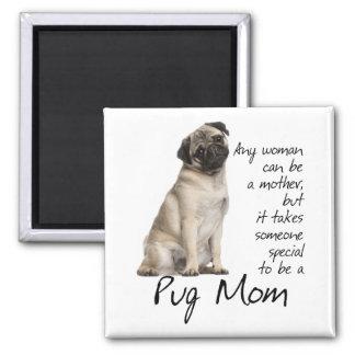Pug Mom Magnet Refrigerator Magnet
