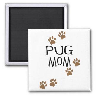 Pug Mom Magnets