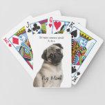 Pug Mom Playing Cards