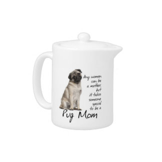 Pug Mom Teapot