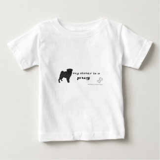 pug - more breeds baby T-Shirt