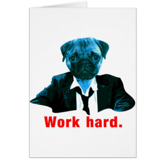 Pug more worker card