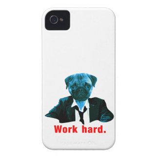 Pug more worker Case-Mate iPhone 4 case