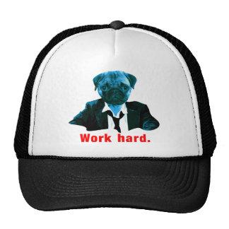 Pug more worker trucker hat