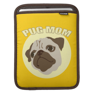Pug Mother Sleeve For iPads