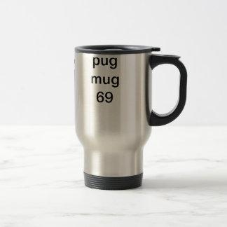 pug mug - 4 cute pugs