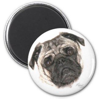 Pug Mug Magnet