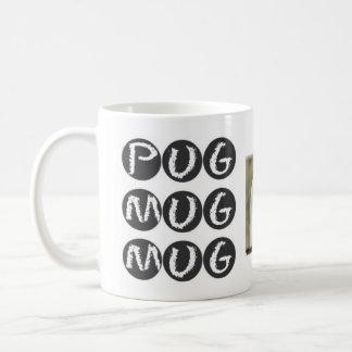 PUG MUG MUG Drinkware with Pug Dog Photo