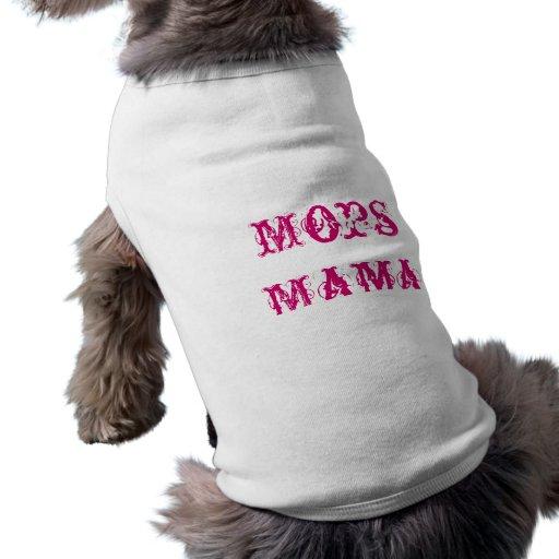 Pug mummy doggie t-shirt
