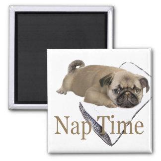 Pug Nap Time GIfts Magnet