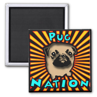 Pug Nation Magnet