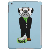 Pug Nope Cover For iPad Air