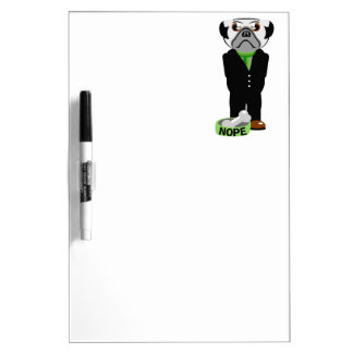 Pug Nope Dry-Erase Boards