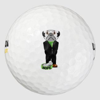 Pug Nope Golf Balls