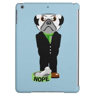 Pug Nope iPad Air Cover