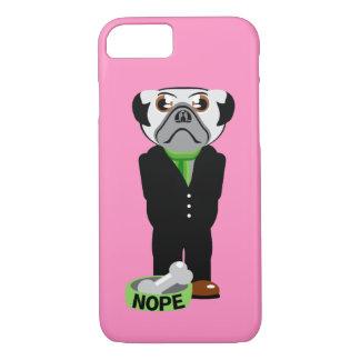 Pug Nope iPhone 7 Case