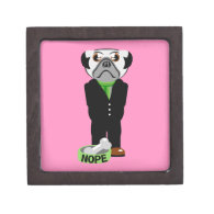 Pug Nope Premium Gift Box