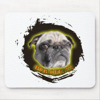 pug off mouse pad
